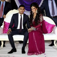 Exclusive Pictures of Amir Khan Boxer Engagement
