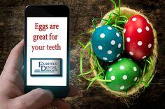 #Fairfield #CT  #EasterEggs keep your #Teeth healthy - So does #PreventiveDentalCare and the #Dentist @ #Fairfield #Dental #Associates http://goo.gl/NBd5BV