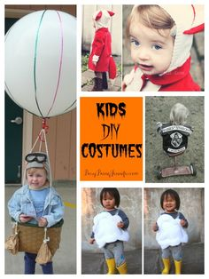 9 clever and cute DIY kids costumes - busybeingjennifer.com