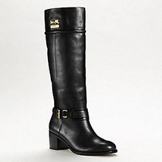 Coach boots! normally 400 but on sale for $279.00! <3