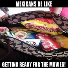 Now this is a Mexican Purse being put to good use!