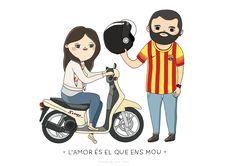 Cristina de Lera illustration * Love moves us *