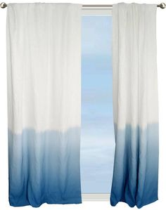 Aqua Voile Curtain Panel Amp Scarf Set All About The Happy