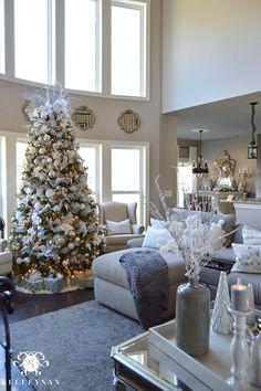 Tree in Silvery White Grandeur