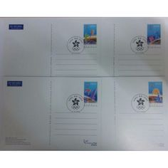 Buy (CTO) 2000 Hong Kong PostCard - Olympic Games in Singapore,Singapore. 2000 Hong Kong PostCard - Olympic Games (CTO)  Perfect Condition Get great deals on Stamps Chat to Buy