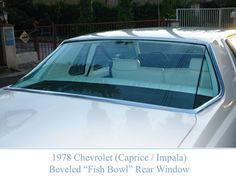 77 Chevrolet Caprice Classic Landau Coupe rear glass treatment-http://mrimpalasautoparts.com