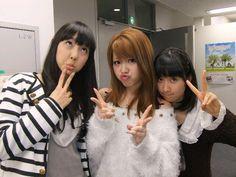 Iikubo Haruna, Tanaka Reina and Satou Masaki~~~