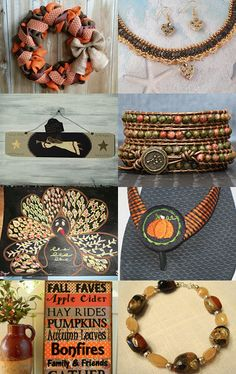 Fall Finds by Pat Tinnin on Etsy--Pinned with TreasuryPin.com
