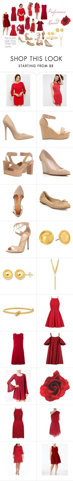 """""""Preference Round"""" by lsipzizeire on Polyvore featuring Free People, Jimmy Choo, Stuart Weitzman, Kate Spade, Charlotte Russe, L.K.Bennett, Gianvito Rossi, Vera Bradley, BERRICLE and Chi Chi"""