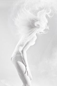 White Powder by Ela Zubrowska, via Behance