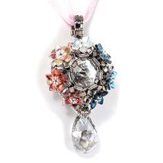 Silver Prism Blossom Pendant - Cindy Holsclaw - Bead Origami