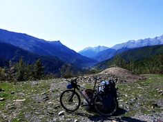 caucasus bike svanetia mountains