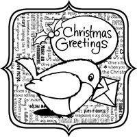 Christmas Robin Greeting