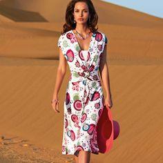 Vestido estampado de punto ligero | ANNE WEYBURN | La Redoute 64.90 €