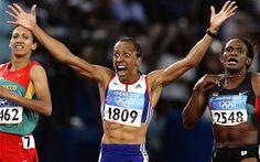 Olympic Gold Medallist Kelly Holmes