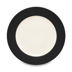 13 Noritake® Colorwave Rim Salad Plate in Graphite - BedBathandBeyond.com