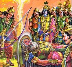 Bhisma- Although he didnt do any penance, but Bhisma was granted the boon of Sweccha Mrityu (control over his own death — he could choose the time of his death) from his father, Shantanu. So, after getting defeated by Arjun, he laid on a bed of arrows and delayed his death by his own will.