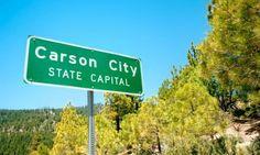 Carson City, Nevada's state capital