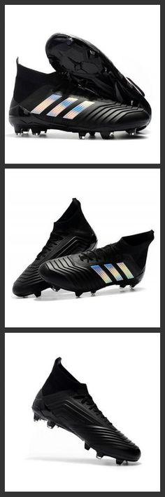b85549d6a342b 2018 Scarpe Da Calcio Adidas Predator 18.1 FG Argento nero