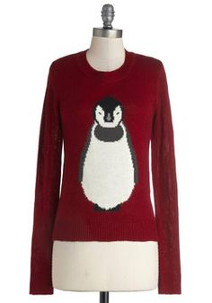 Frosty Friends Sweater, #ModCloth