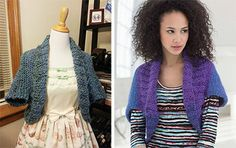 Projects that take two balls of yarn or less/ some knit some crochet