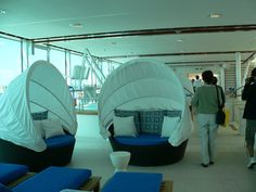 More lounge chairs on the Celebrity Solstice