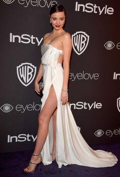 Miranda Kerr in August Getty - Golden Globes 2017