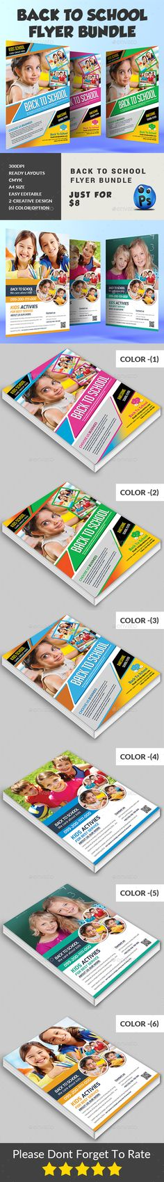 Back To School  Flyer Template  Templates Back To And Flyer
