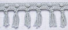 Crochet Trim: Popcorn Fringe Tutorial ✭Teresa Restegui http://www.pinterest.com/teretegui/ ✭