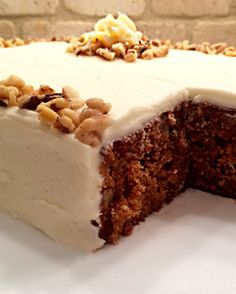 Pineapple Carrot Cake- Super moist carrot cake with a twist!