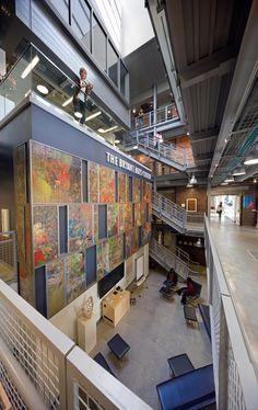 The Bryant Arts Center At Denison University By Brad Feinknopf, Via Behance Part 30