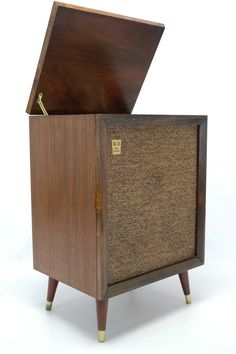 VINTAGE Mid Century Consolette Record Player by thevintedgeco, $595.00