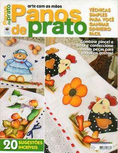 Arte com as maos panos de prato - Aparecida Zaramelo - Picasa Web Albums