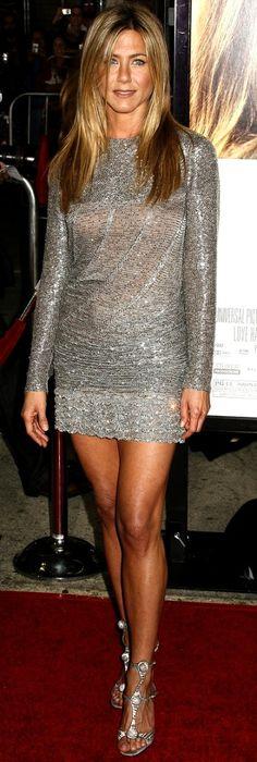 Jen wearing a Short dress with long sleeves