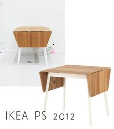 ikea ps 2012 collection (love this foldable table!)