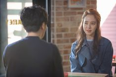 Initial stills of Ex-Girlfriend Club's OTP, Song Ji Hyo and Byun Yo Han, have been released. They reveal the two running into each other in the street. Another shows Byun's Bang … Ex Girlfriend Club, Lee Yoon Ji, Byun Yo Han, Ex Girlfriends, Otp, It Cast, Songs, Kimchi, Female