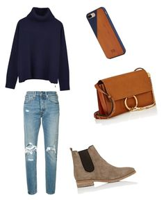 """""""Untitled #8"""" by emy-huerta on Polyvore featuring Ille De Cocos, Levi's, Barneys New York, Chloé and Native Union"""
