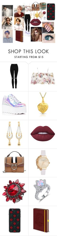"""NCT 127 Johnny"" by btsloveforlife on Polyvore featuring Oh My Love, Y.R.U., Bling Jewelry, Sophie Harley London, Lime Crime, Olivia Burton, Zero Gravity and Amrita Singh"