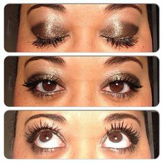 Dazzling Every Day Eyes, with Younique eye pigments and 3D Lash Mascara http://youniqueproducts.com/MJHodge