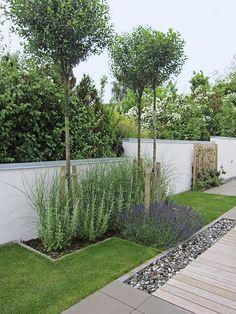 49 Popular Modern Front Yard Landscaping Ideas – Garden Landscaping ideas - How to Make Gardening Landscaping Supplies, Modern Landscaping, Front Yard Landscaping, Backyard Landscaping, Landscaping Ideas, Backyard Ideas, Natural Landscaping, Back Gardens, Outdoor Gardens
