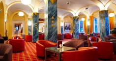 Bar and lobby with live music at Sporthotel Valsana - Tschuggen Hotel Group, Switzerland