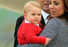 Prince George's Facial Expressions Just Like the Royals | POPSUGAR Celebrity