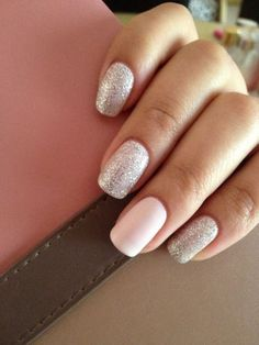 70+ Beautiful Glitter Nail Designs to Make You Look Trendy and Stylish - Page 21 of 74 - Nail Polish Addicted