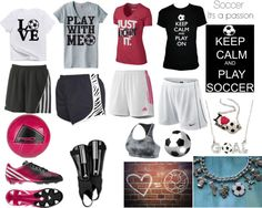 When you participate in soccer training, you will find that you are introduced to many different types of methods of play. One of the most important aspects of your soccer training regime is learning the basics of kicking the soccer b Cute Athletic Outfits, Cute Gym Outfits, Soccer Outfits, Sport Outfits, Soccer Clothes, Athletic Wear, Affordable Workout Clothes, Sexy Workout Clothes, Girls Soccer