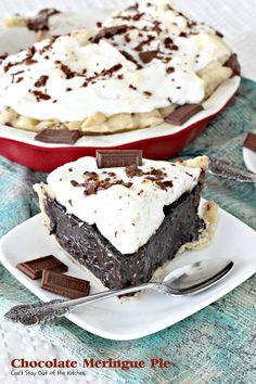 Chocolate Meringue Pie - IMG_3283