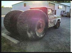 pictures of rat rod trucks Cool Trucks, Big Trucks, Chevy Trucks, Truck Drivers, Dually Trucks, Semi Trucks, Pickup Trucks, Custom Trucks, Custom Cars