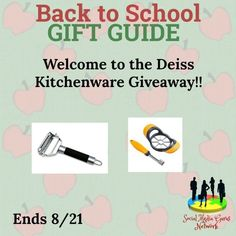 Deiss Kitchenware Giveaway!! Ends 8/21 ~ Tales From A Southern Mom