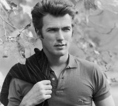 Clint Eastwood\ I think everybody knows how awesome he is. I grew up watching Rawhide and had the biggest crush on him.