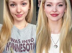 "Dove Cameron from Stars Without Makeup  The Disney Channel star posted a makeup-free selfie and admitted, ""This is what I look like most days, y'all!"""