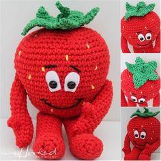Elke week een nieuw patroon! Haakpatronen van deze leuke fruitjes! Deel 1 t/m 3 Lees meer Annie Aardbei Patroon van MrsHooked Bert Banaan